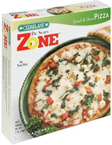 Cedarlane Spinach & Cheese Pizza - 7 oz