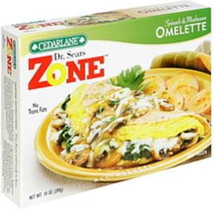 Cedarlane Omelette Spinach & Mushroom