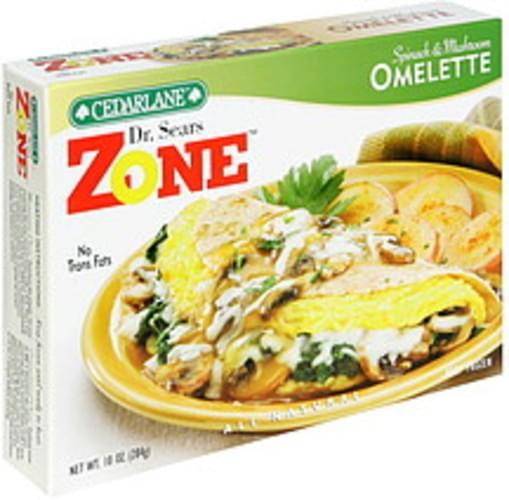Cedarlane Spinach & Mushroom Omelette - 10 oz