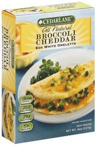 Cedarlane Omelette Egg White, Broccoli Cheddar