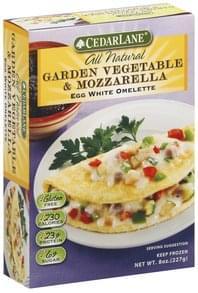 Cedarlane Omelette Egg White, Garden Vegetable & Mozzarella