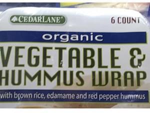 Cedarlane Organic Vegetable & Hummus Wrap