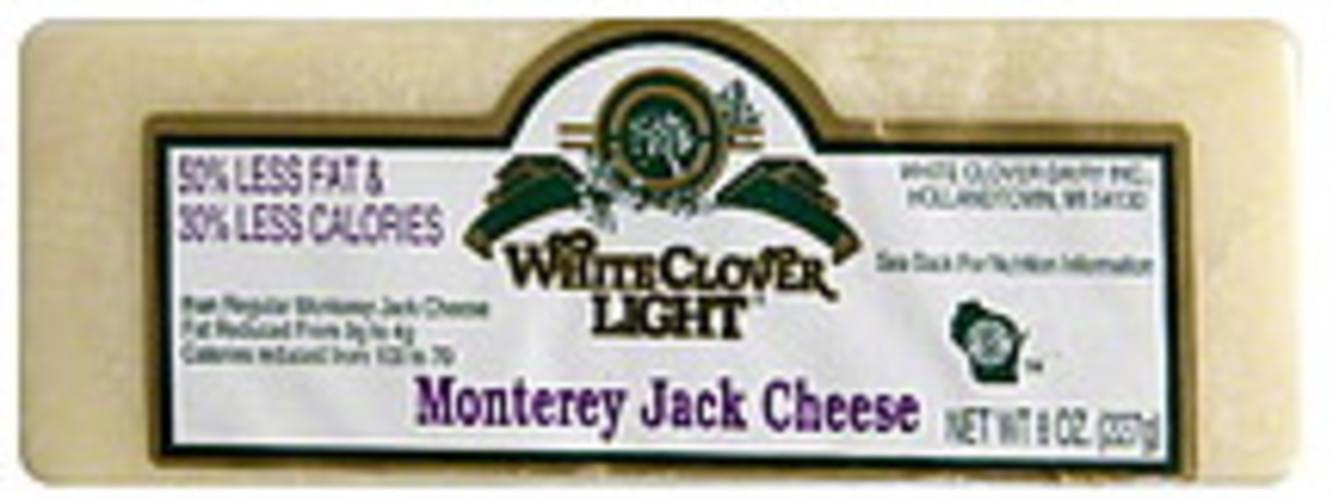 White Clover Monterey Jack Cheese - 8 oz