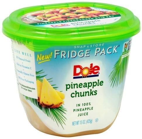 Fridge Pack Pineapple Chunks