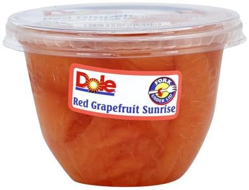 Dole Red Grapefruit Sunrise - 7 oz