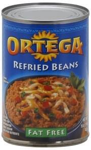 Ortega Refried Beans Fat Free