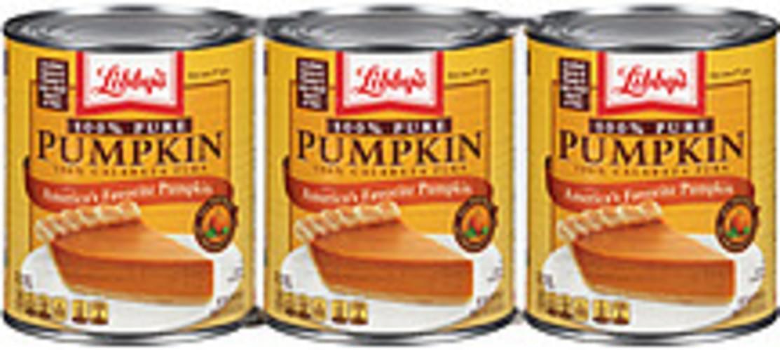 Libby's Pumpkin 100% Pure Pumpkin - 87 oz