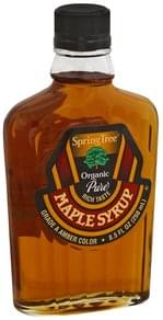 Spring Tree Maple Syrup Organic