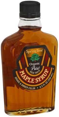 Spring Tree Organic Maple Syrup - 8.5 oz