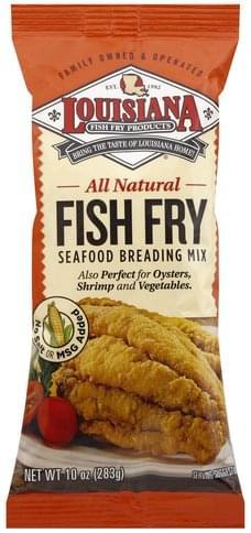 Louisiana Fish Fry Products Fish Fry - 10 oz