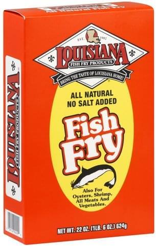 Louisiana Fish Fry Products Fish Fry - 22 oz
