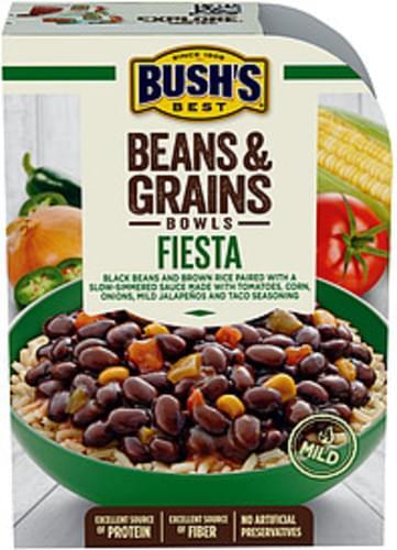 Bush's Best Fiesta Beans & Grains Bowl - 9 oz