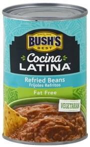 Bushs Best Refried Beans Fat Free