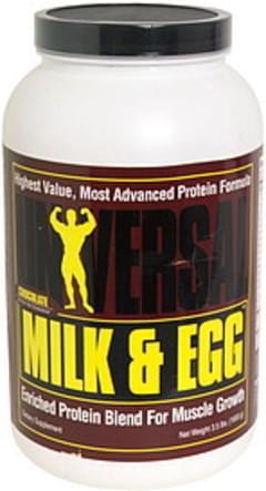 Universal Milk & Egg Chocolate