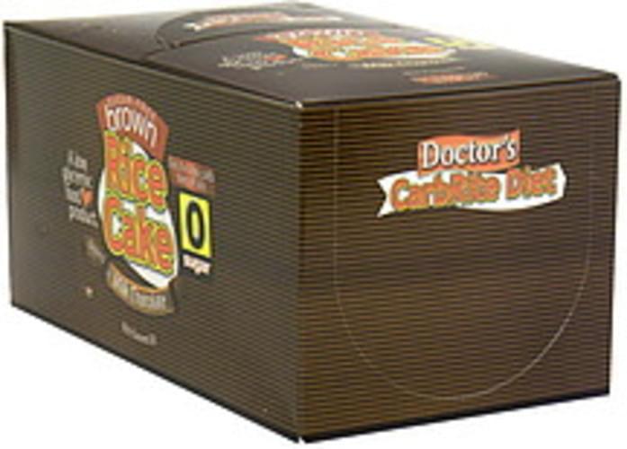 Doctors Sugar Free Brown Rice Cake Dipped in Milk Chocolate - 12 ea