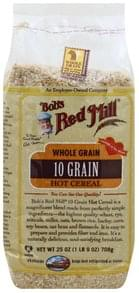 Bobs Red Mill Hot Cereal 10 Grain, Whole Grain