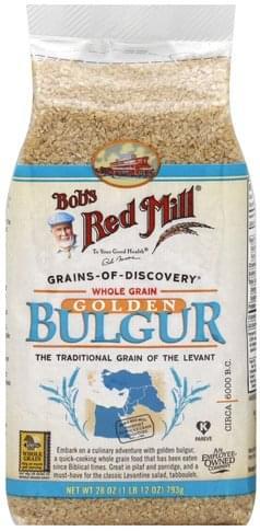 Bobs Red Mill Golden, Whole Grain Bulgur - 28 oz