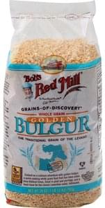 Bobs Red Mill Bulgur Golden, Whole Grain