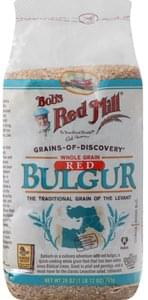 Bobs Red Mill Bulgur Red, Whole Grain