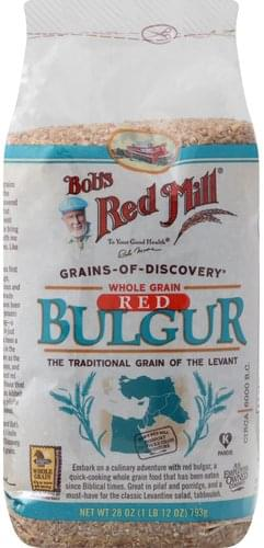 Bobs Red Mill Red, Whole Grain Bulgur - 28 oz
