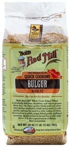 Bobs Red Mill Bulgur 100% Whole Grain, Wheat
