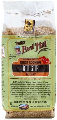 Bobs Red Mill 100% Whole Grain, Wheat Bulgur - 28 oz