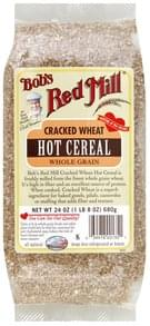 Bobs Red Mill Hot Cereal Whole Grain, Cracked Wheat