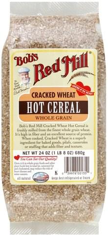Bobs Red Mill Whole Grain, Cracked Wheat Hot Cereal - 24 oz