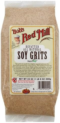 Bobs Red Mill Soy Grits - 24 oz