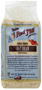 Bobs Red Mill Hot Cereal Oat Bran