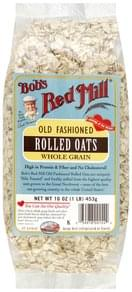 Bobs Red Mill Rolled Oats Whole Grain, Old Fashioned