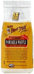 Bobs Red Mill Whole Grain Mix Pancake & Waffle, 10 Grain