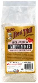 Bobs Red Mill Muffin Mix Spice Apple Bran
