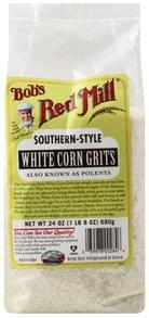 Bobs Red Mill Corn Grits White, Southern-Style