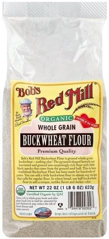 Bobs Red Mill Buckwheat, Organic Flour - 22 oz