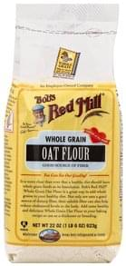 Bobs Red Mill Oat Flour Whole Grain