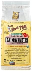 Bobs Red Mill Rye Flour Dark