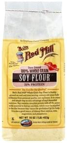 Bobs Red Mill Soy Flour 100% Whole Grain, Stone Ground