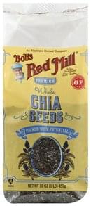 Bobs Red Mill Chia Seeds Premium, Whole