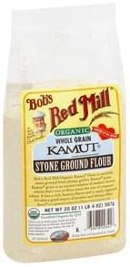 Bobs Red Mill Kamut Flour Stone Ground, Whole Grain, Organic