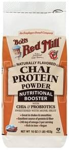 Bobs Red Mill Protein Powder Chai