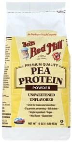 Bobs Red Mill Protein Powder Pea, Unsweetened, Unflavored