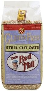 Bobs Red Mill Oats Gluten Free, Steel Cut