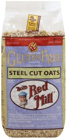 Bobs Red Mill Gluten Free, Steel Cut Oats - 24 oz