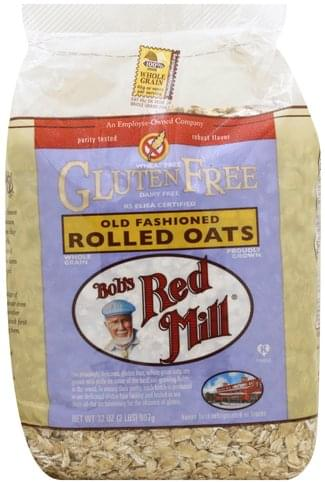 Bobs Red Mill Gluten Free, Old Fashioned Rolled Oats - 32 oz
