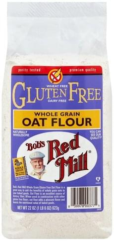 Bobs Red Mill Whole Grain Oat Flour - 22 oz