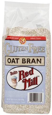Bobs Red Mill Oat Bran - 18 oz