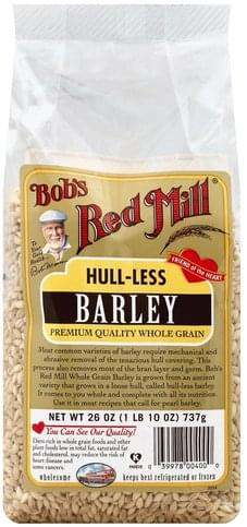 Bobs Red Mill Hull-less Barley - 26 oz