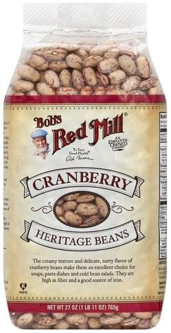 Bobs Red Mill Cranberry Heritage Beans - 27 oz