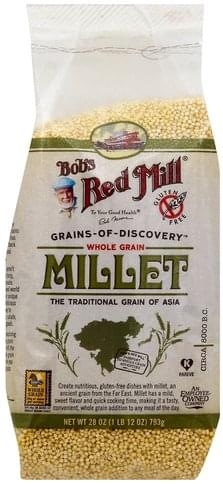 Bobs Red Mill Whole Grain Millet - 28 oz